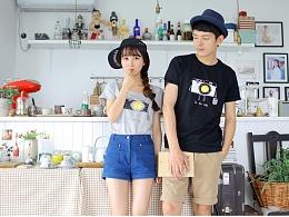 云朵工厂×MOON-TalkTee -四周年生日联名设计T恤