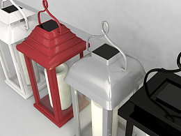 c4d制作太阳能灯具2(公司产品)