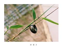 [原创作品]纯手工绿檀木不规则小切面木戒指