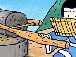 #小矛毁童年#凿壁借光的故事21 
