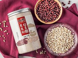 一款红豆粉包装