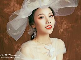 个人婚纱写真 深圳约拍  复古油画布艺术照摄影