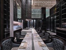 Threeimages/三像摄建筑室内环境摄影冰火两重天Bar