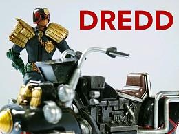 threezero 1/12 juge dredd