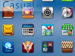 《360首届手机主题设计大赛》--Casual