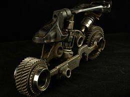 九素(北京)原创机械装置雕塑-机车系列