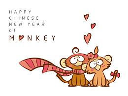 【猴】幸运遇上你