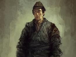 2011年给《1942》画的一些角色图 。注:我是服装组的哦
