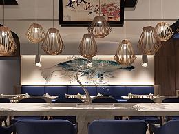 有所空间设计&武汉江汉路HAPPY站台负一楼「鲜为人知」餐厅设计