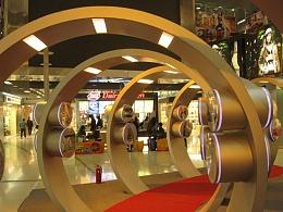 新华图片社《香港图片展》2009展台设计