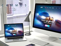 CAMMUS-改装车网页设计
