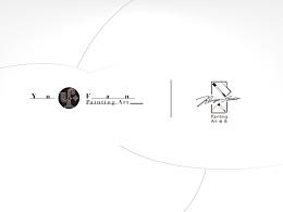 ruiyi painting studio & yu_fan personal logo
