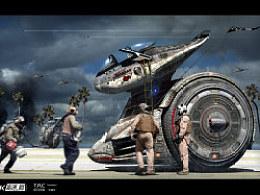 """""""Za.K_高速.戮""""系列机体设计第二弹:战术侦察舱__鮟鱇鱼"""
