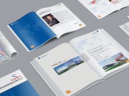 简洁风格企业画册设计