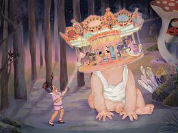 森林游乐园Merry-go-round