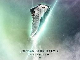 Air jordan super.fly x 篮球鞋最新配色/某杂志平面拍摄