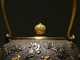 【沐焱堂】《六子真言》 无涂层养生铁壶 铸铁茶具 茶道铁壶