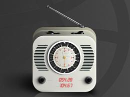 好大一坨收音机