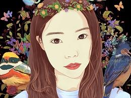 花の女 | T恤图