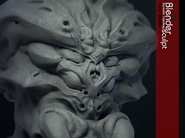 Blender 动态细分雕刻测试作品展示 + Pie菜单工具2.73版发布