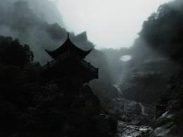 庐山烟雨  飞流直下三千尺  疑是银河落九天