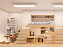 開合 #室內設計 #小空間改造設計 #10女生宿舍