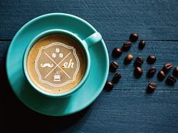 咖啡 标志提案