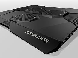 邦陈设计-电脑扇热器
