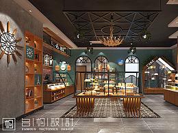 山东滨州—麦田蛋糕店设计