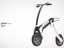 品向工业设计 pxid平衡车设计 代步工具设计