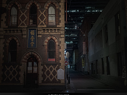 墨尔本之夜 《微光城市》之十