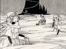 漫画创作:《归途》
