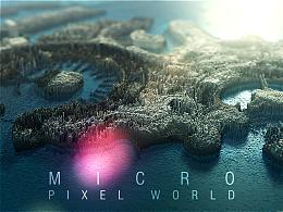 微观像素 / 世界