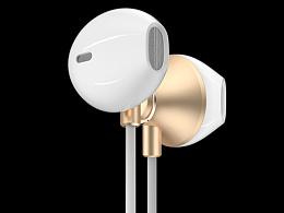 电商3c产品渲染/iphone手机壳/耳机渲染