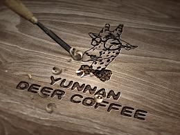 毕业设计作品《鹿.咖》咖啡包装设计