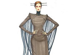 服装效果图……10个美丽的牌子