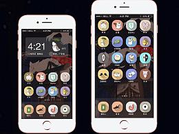 《夏目友人帐》手机主题设计