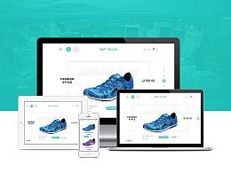 万鞋云商网站