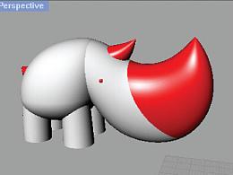 【先锋玩偶大系】【极限族】之【极限犀牛·弯月】