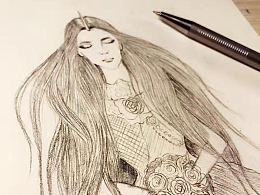 小画练习~~~铅笔画!