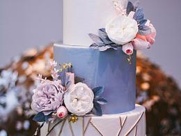 美食摄影 | 婚礼翻糖蛋糕