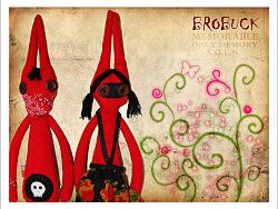 布洛巴克—红色十月PUNK兔子