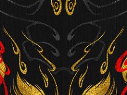 黑骑士(90%的插画设计+10%字体设计)