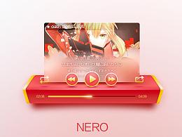 【NERO】音乐播放器界面,附PSD。
