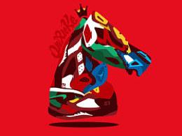 马年贺图送Sneaker
