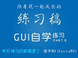GUI自学 图标练习 帕尔特.5【单反神马的都碉堡了-徕卡M9(leicaM9)】【2P】