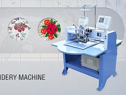 机器海报—绣花机