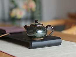 原创手工推荐 器世界精品钧瓷茶具茶道 白胜利钧瓷作品 钧瓷茶壶鉴赏(三)