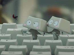 超级呆萌的键盘仔