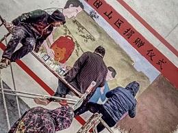 李晨带队画墙绘